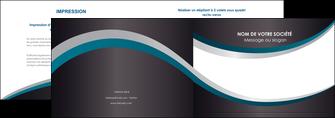 exemple depliant 2 volets  4 pages  texture contexture structure MLGI54442