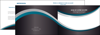 exemple depliant 2 volets  4 pages  texture contexture structure MIF54442