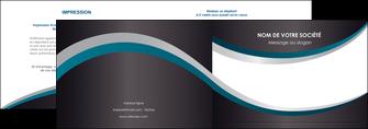 imprimerie depliant 2 volets  4 pages  texture contexture structure MIF54444