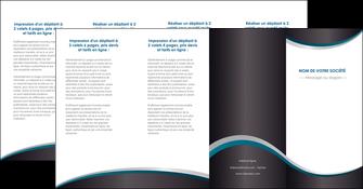 imprimer depliant 4 volets  8 pages  texture contexture structure MIF54462
