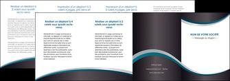 impression depliant 4 volets  8 pages  texture contexture structure MIF54464