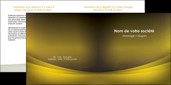 faire depliant 2 volets  4 pages  texture contexture structure MLGI54558