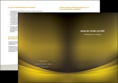 cree depliant 2 volets  4 pages  texture contexture structure MLGI54568