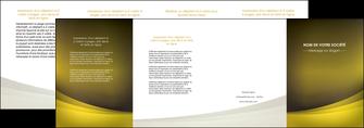 modele depliant 4 volets  8 pages  texture contexture structure MLGI54570