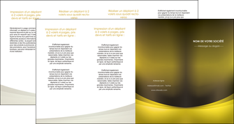 exemple depliant 4 volets  8 pages  texture contexture structure MLGI54574