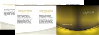 personnaliser modele de depliant 4 volets  8 pages  texture contexture structure MLGI54576