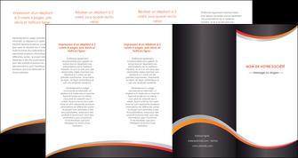 impression depliant 4 volets  8 pages  texture contexture structure MLIG54580