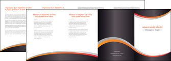 exemple depliant 4 volets  8 pages  texture contexture structure MLGI54582