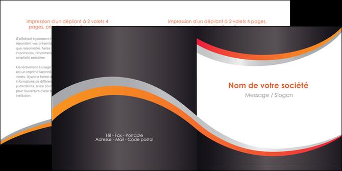 maquette en ligne a personnaliser depliant 2 volets  4 pages  texture contexture structure MLGI54594