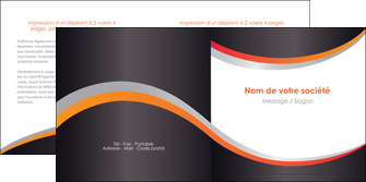 maquette en ligne a personnaliser depliant 2 volets  4 pages  texture contexture structure MLIG54594