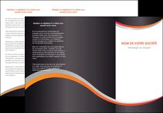 creer modele en ligne depliant 3 volets  6 pages  texture contexture structure MLIG54598
