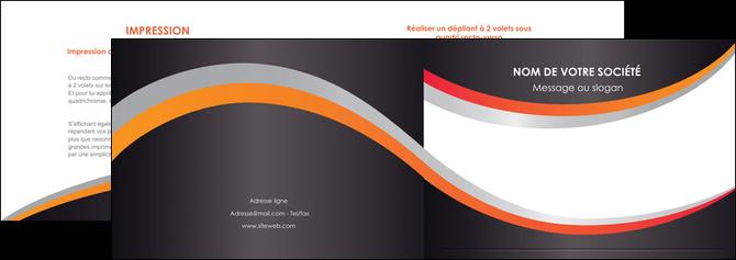 modele en ligne depliant 2 volets  4 pages  texture contexture structure MLGI54608