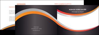 modele en ligne depliant 2 volets  4 pages  texture contexture structure MLIG54608