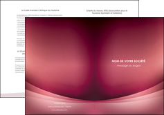 faire depliant 2 volets  4 pages  texture contexture structure MIF54700