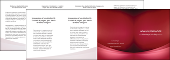 cree depliant 4 volets  8 pages  texture contexture structure MIF54742
