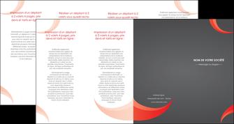personnaliser maquette depliant 4 volets  8 pages  texture contexture structure MLIG54746