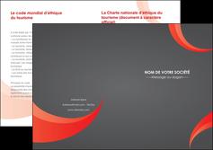 modele en ligne depliant 2 volets  4 pages  texture contexture structure MLIG54752