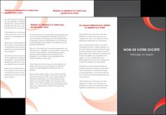 faire modele a imprimer depliant 3 volets  6 pages  texture contexture structure MLIG54764