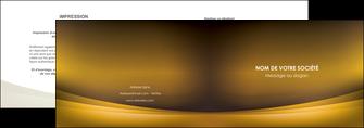 imprimerie depliant 2 volets  4 pages  texture contexture structure MIF54828