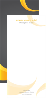 Impression tract personnalisé  devis d'imprimeur publicitaire professionnel Flyer DL - Portrait (21 x 10 cm)