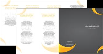 realiser depliant 4 volets  8 pages  texture contexture structure MIF54850