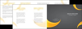 imprimerie depliant 4 volets  8 pages  texture contexture structure MIF54852