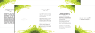 cree depliant 4 volets  8 pages  texture contexture structure MLGI55010