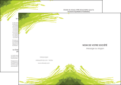 imprimer depliant 2 volets  4 pages  texture contexture structure MLGI55012