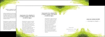 realiser depliant 4 volets  8 pages  texture contexture structure MLGI55054
