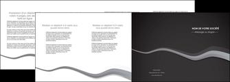faire depliant 4 volets  8 pages  texture contexture structure MIF55152