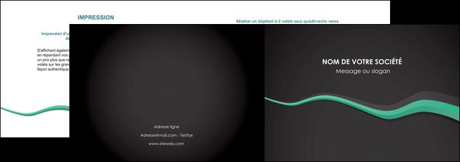 modele depliant 2 volets  4 pages  texture contexture structure MLGI55176
