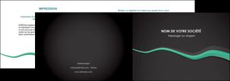 modele depliant 2 volets  4 pages  texture contexture structure MLIG55176