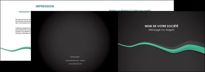 impression depliant 2 volets  4 pages  texture contexture structure MLGI55178