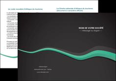 modele en ligne depliant 2 volets  4 pages  texture contexture structure MLIG55200
