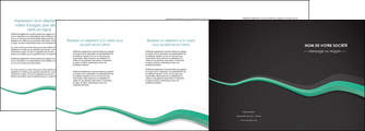 realiser depliant 4 volets  8 pages  texture contexture structure MLIG55204