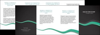 modele en ligne depliant 4 volets  8 pages  texture contexture structure MLIG55210