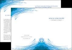 faire modele a imprimer depliant 2 volets  4 pages  texture structure contexture MLGI55230