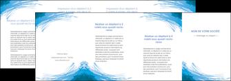 personnaliser maquette depliant 4 volets  8 pages  texture structure contexture MLGI55272