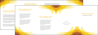creation graphique en ligne depliant 4 volets  8 pages  texture structure contexture MIF55278