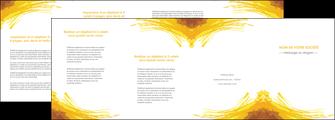 creation graphique en ligne depliant 4 volets  8 pages  texture structure contexture MIF55278