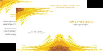maquette en ligne a personnaliser depliant 2 volets  4 pages  texture structure contexture MIF55290