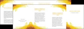 faire depliant 4 volets  8 pages  texture structure contexture MIF55324