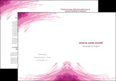 realiser depliant 2 volets  4 pages  texture contexture structure MIF55394