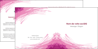 realiser depliant 2 volets  4 pages  texture contexture structure MIF55404