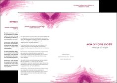 impression depliant 3 volets  6 pages  texture contexture structure MLGI55408