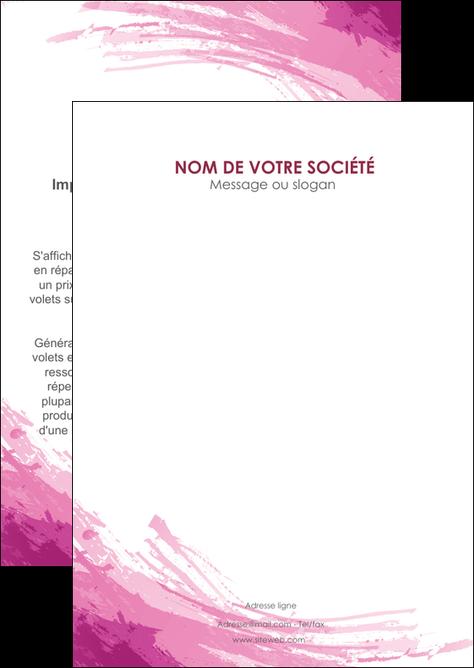 personnaliser modele de flyers texture contexture structure MLGI55430