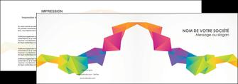 realiser depliant 2 volets  4 pages  texture contexture structure MIF55456