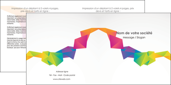 modele en ligne depliant 2 volets  4 pages  texture contexture structure MIF55468