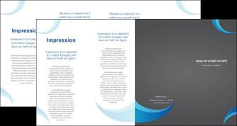 impression depliant 4 volets  8 pages  texture contexture structure MIF55492