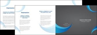 imprimerie depliant 4 volets  8 pages  texture contexture structure MIF55494